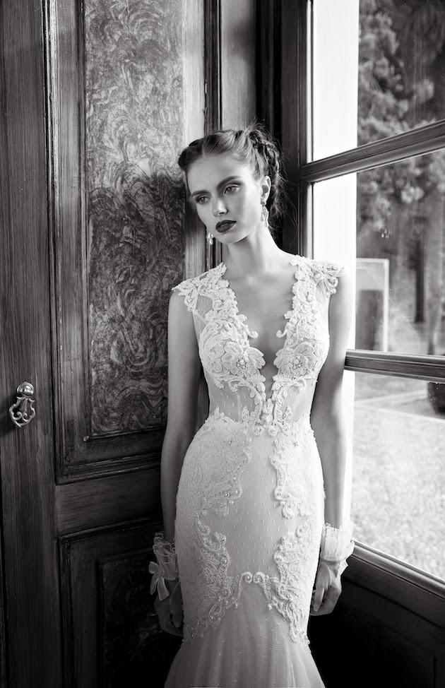 To be my chic bride amazing sexy berta bridal wedding for Berta wedding dress 2014