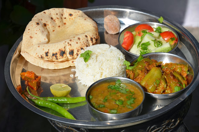 north indian meals, indian lunch, dinner, indian food, north indian food, complete meal