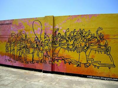 TAMILNADU ARTISTS WALL PAINTING WORKS in CHENNAI WALLS - Chennai ...
