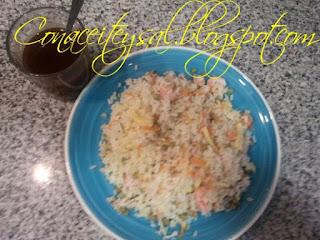 Cheff Aranda nos enseña como preprar Arroz 3 Delicias