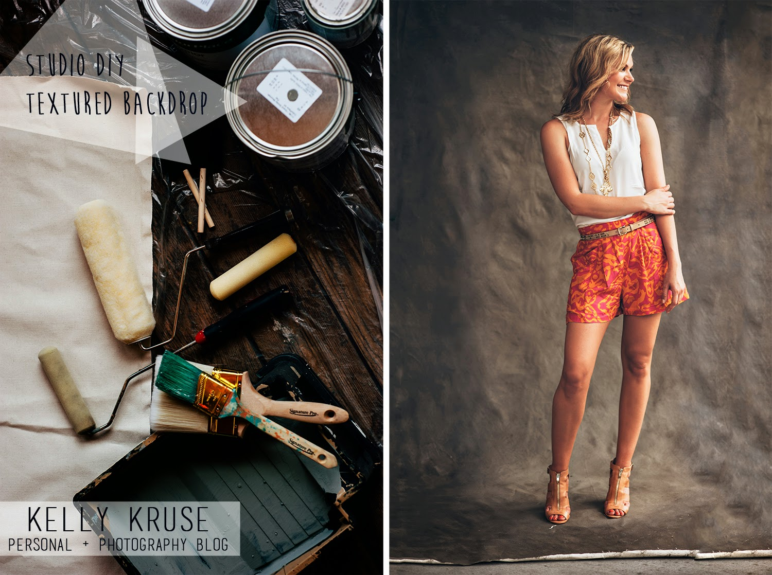 Kelly Kruse Photography D I Y Painted Backdrops For Studio Photography