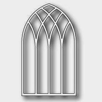 Poppystamps Die Gothic Arch Small die