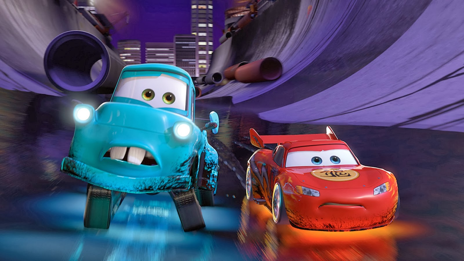 Amazing Wallpaper Movie The Cars - Cars+2+Lightning+McQueen+and+Mater+Wallpaper  HD_845651.jpg