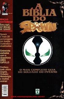 Edição da Abril de A Bíblia do Spawn (Spawn Bible)