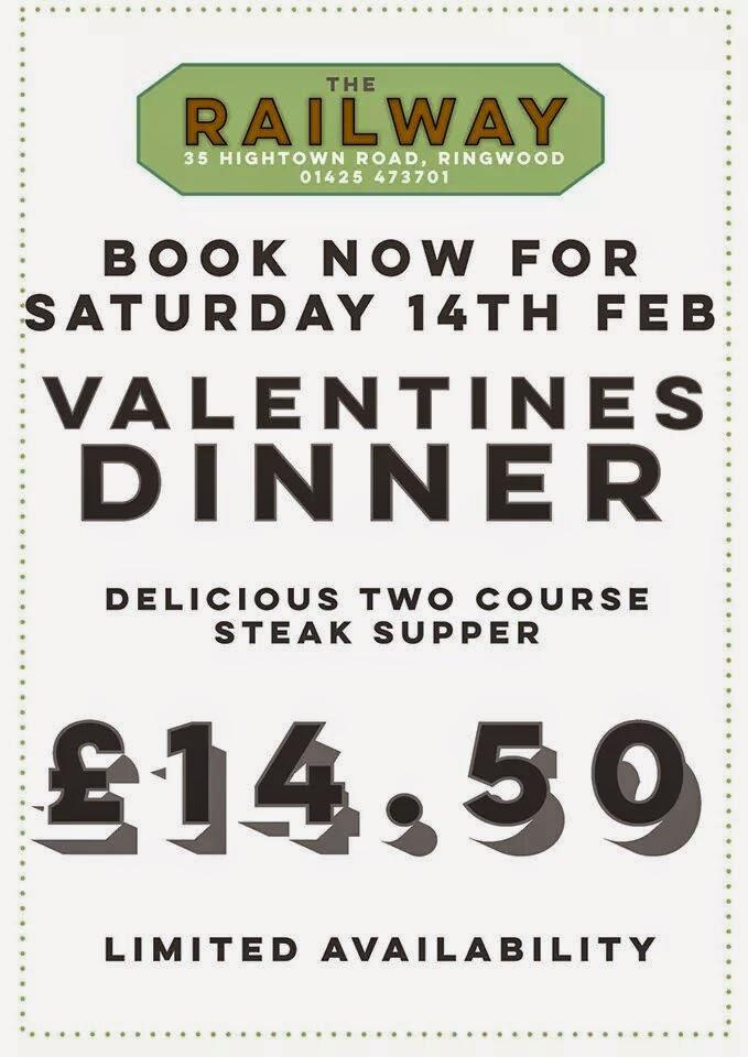 Valentine's menu ringwood