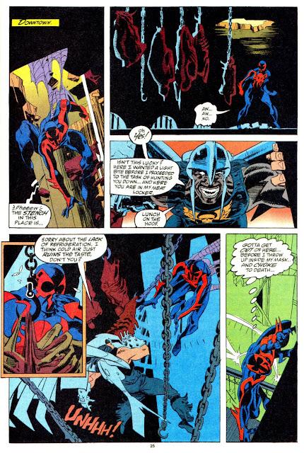 Homem Aranha 2099: Início, de Peter David, Rick Leonardi, Al Williamson, Kelley Jones e Mark McKenna [editora Panini, 2013]