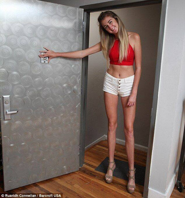 Girl bids to challenge record for the world's longest legs