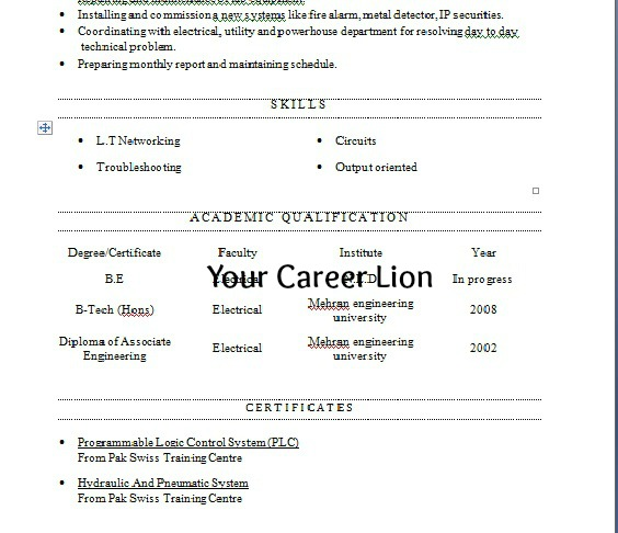 your career resume how to find right key and open