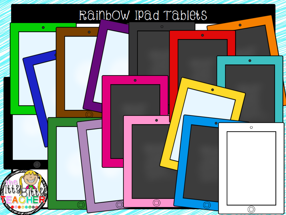 https://www.teacherspayteachers.com/Product/Clipart-Rainbow-Ipad-Tablets-1733553
