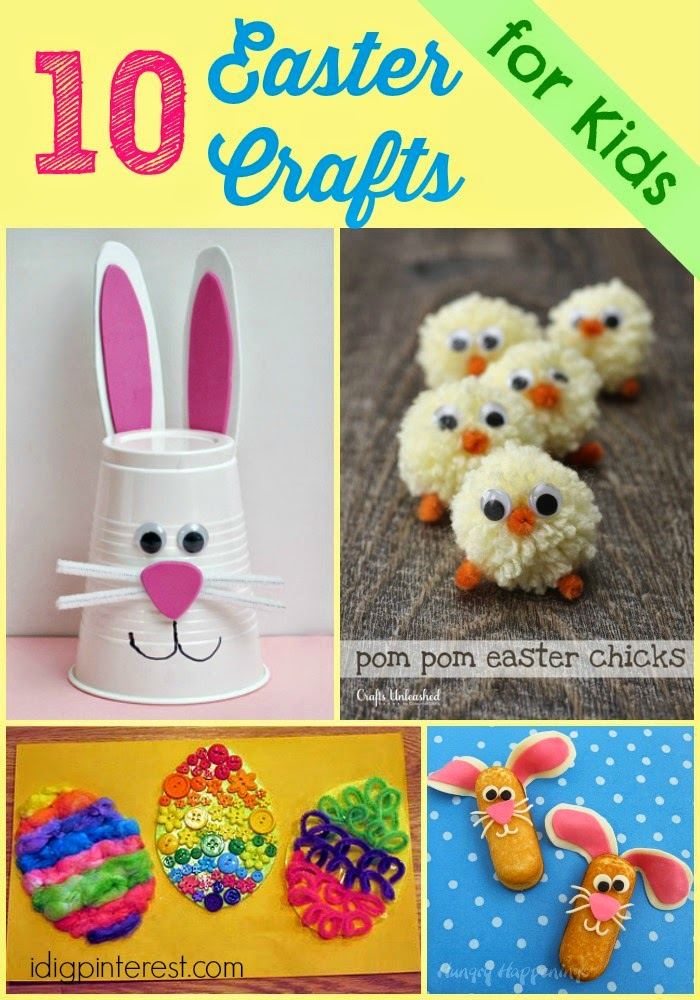 I Dig Pinterest 10 Easy Easter Crafts For Kids