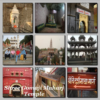 Shree Gomaji Maharaj Temple near Shegaon by Ramakant Agrawal
