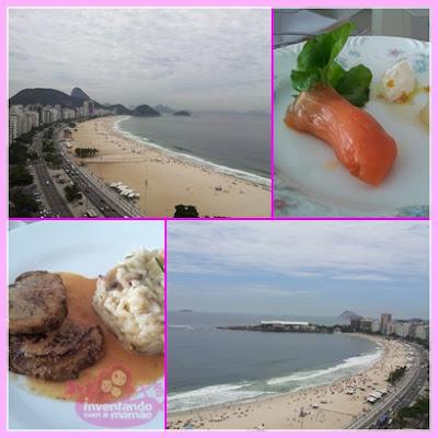 Vista da Paria de Copacabana