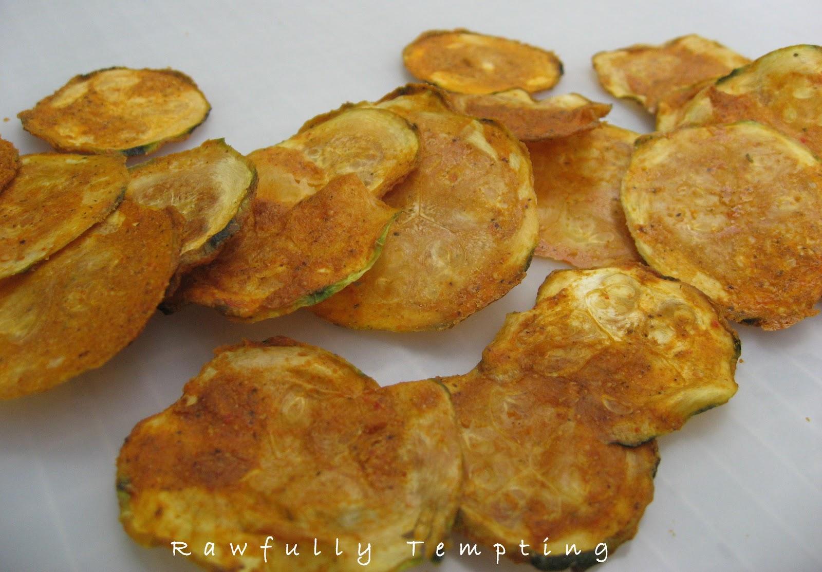 Spicy BBQ Zucchini Chips (RAWBQ)