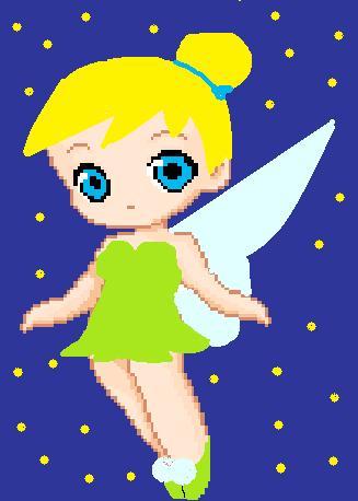 Tinker Bell por PrincessDaisyxox