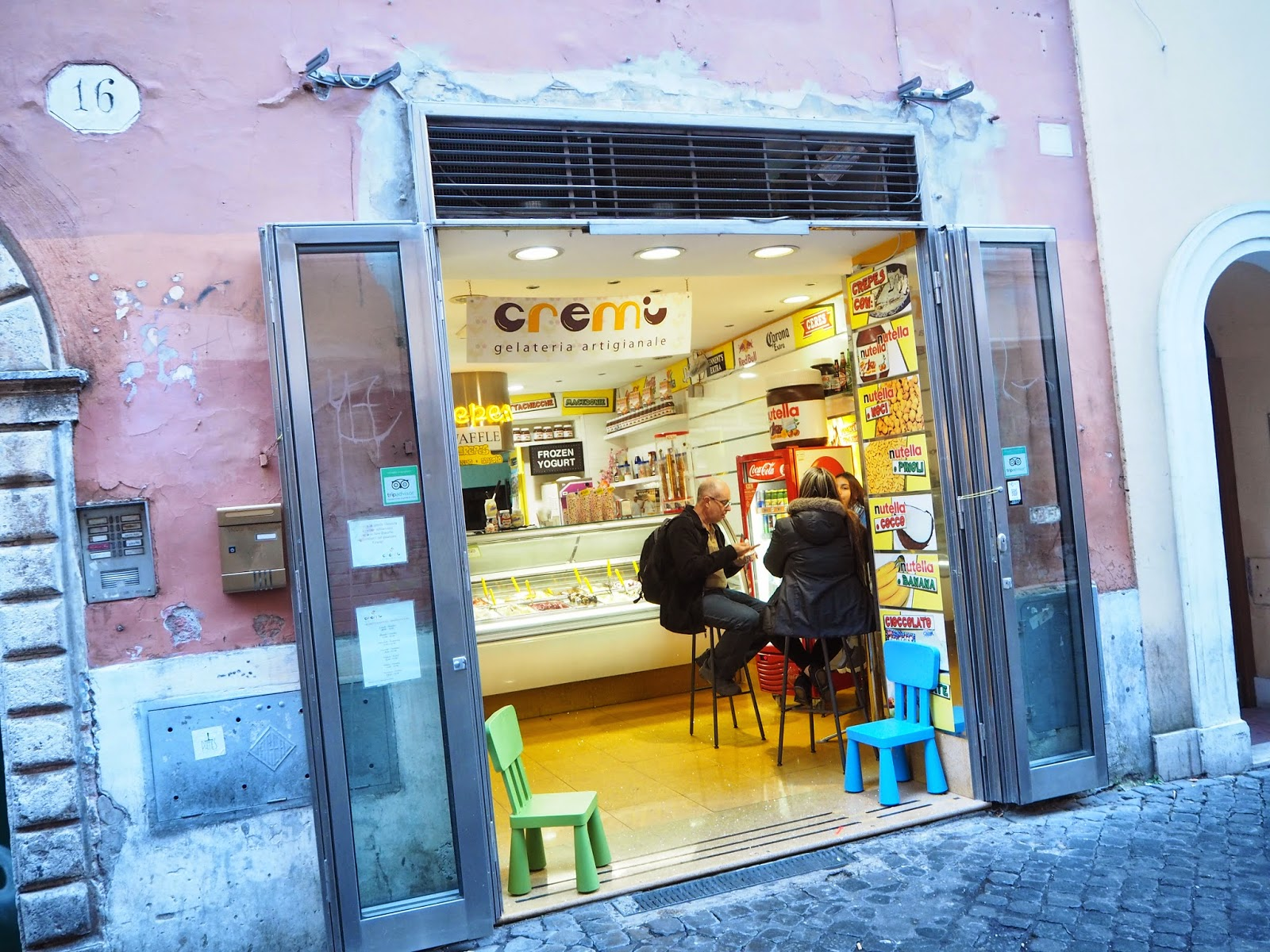ice cream shop, jäätelöbaari, jäätelökioski, rooma, rome, roma, italia, italy, trastevere, gelato, ice cream, jäätelö.