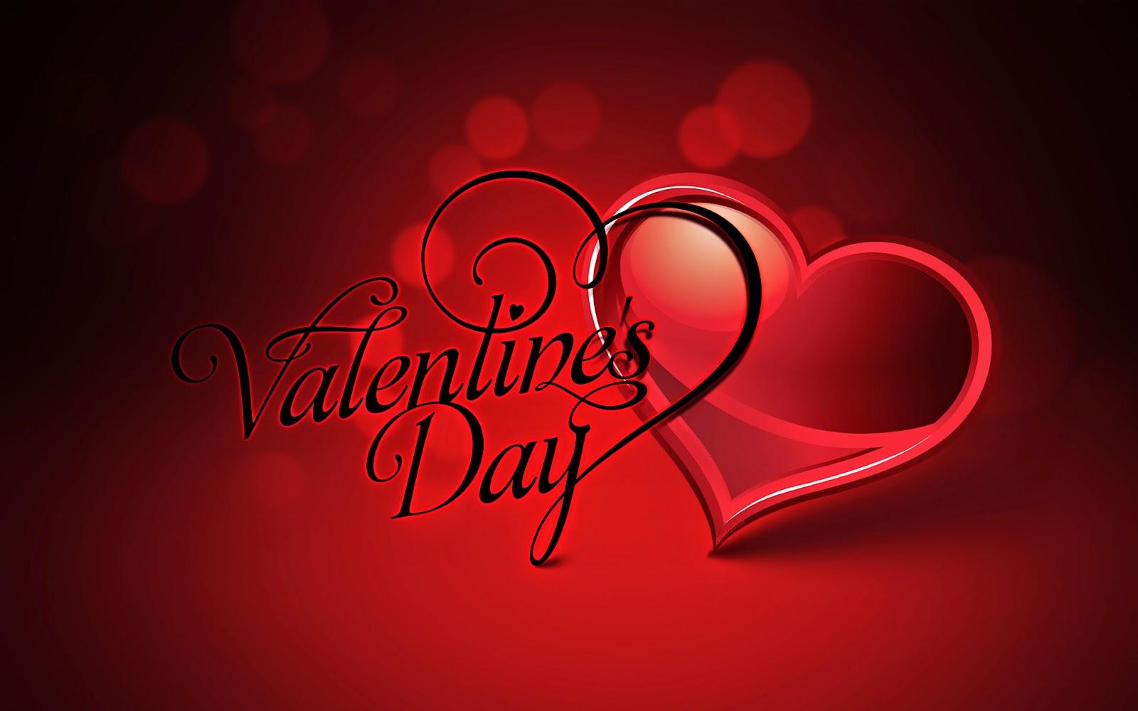 happy valentines day message wallpaper