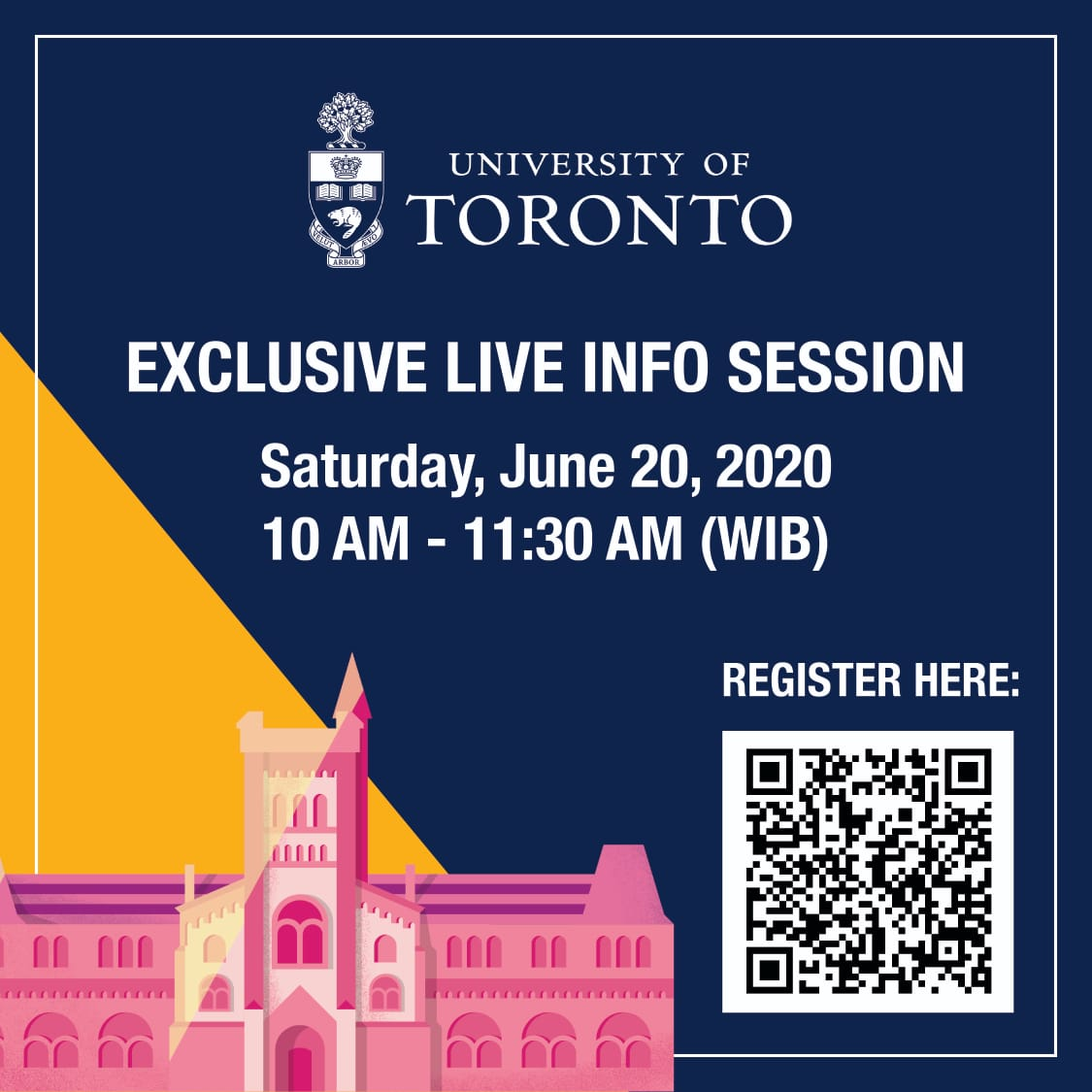 INFO session with University of TORONTO
