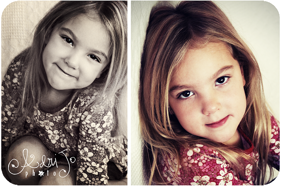 Quicky Little Picky of Miss {S}  - Kuna Idaho Children's Photographer