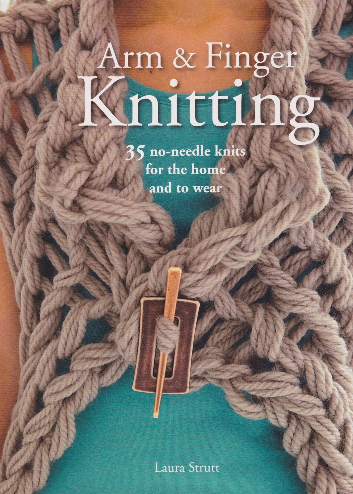 Hand Knitting With Arms : Arm finger knitting book review