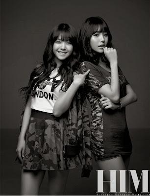 Girl's Day - HIM Magazine September Issue 2013