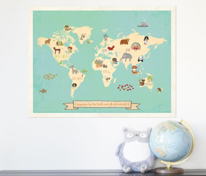 Mad for mid century travel themed nursery art with heart travel themed nursery art with heart gumiabroncs Gallery