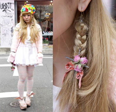 Tokyo Fashion, Street Fashion, Hair, Earrings, Jewelry, Cute Style