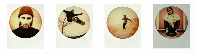 Le polaroid a cornice circolare di the Impossible Project
