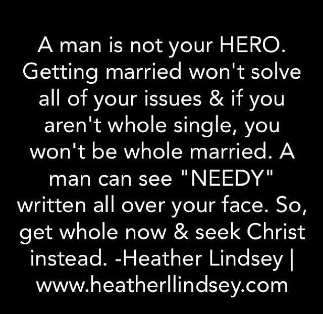 Women In Need Of A Man