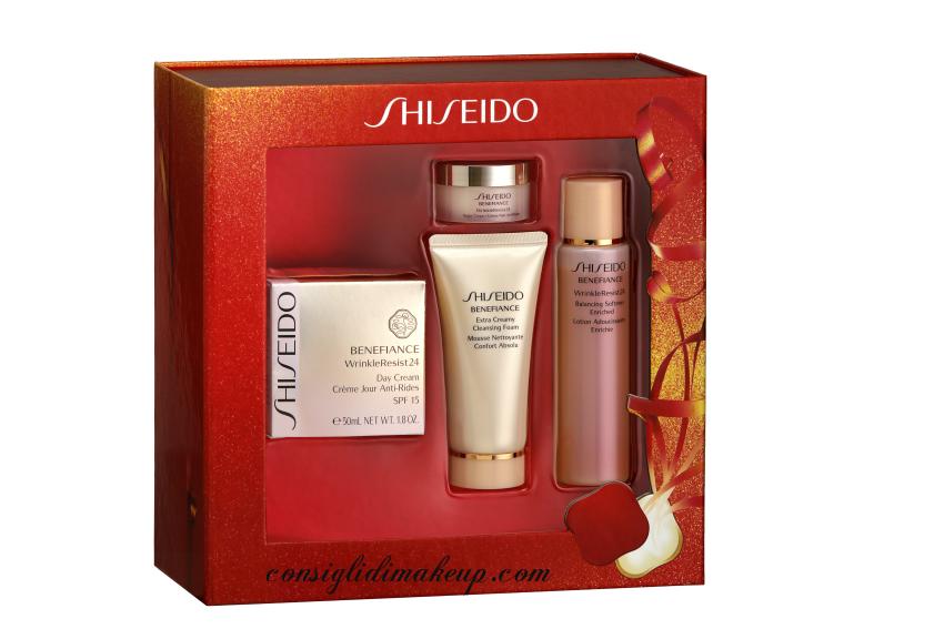 cofanetti natale shiseido