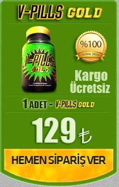 V-Pills Gold Penis Büyütücü