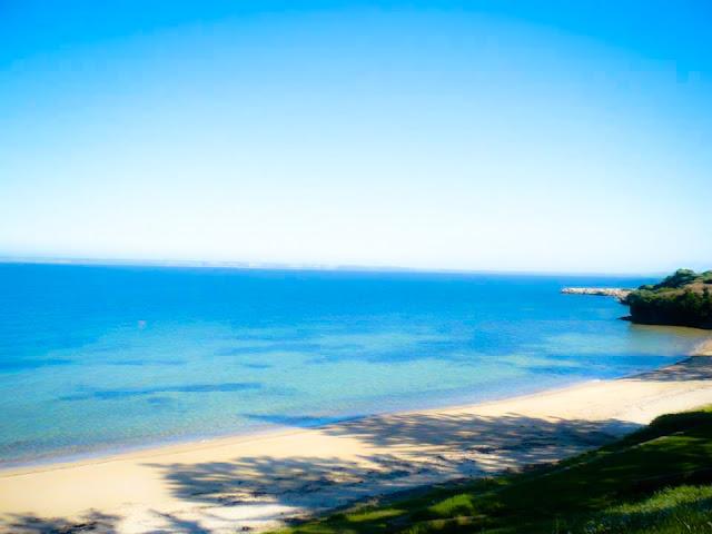 sunny beach kangaroo island