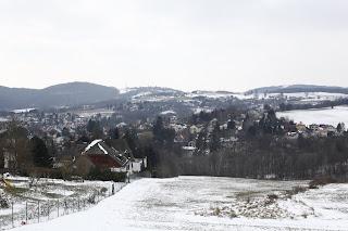 Blick über die Siedlung am Sperrberg