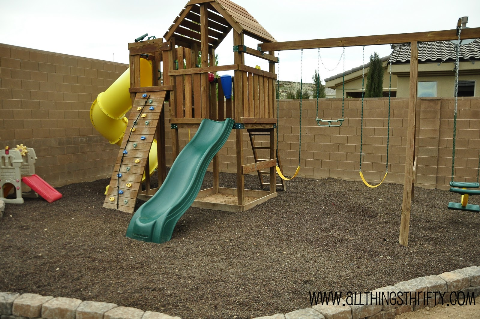 Outdoor Swing Sets And How To Prevent Weeds In The Long Run