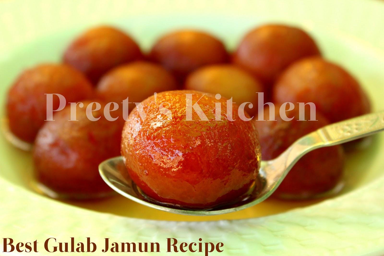 how to make gulab jamun recipe in tamil