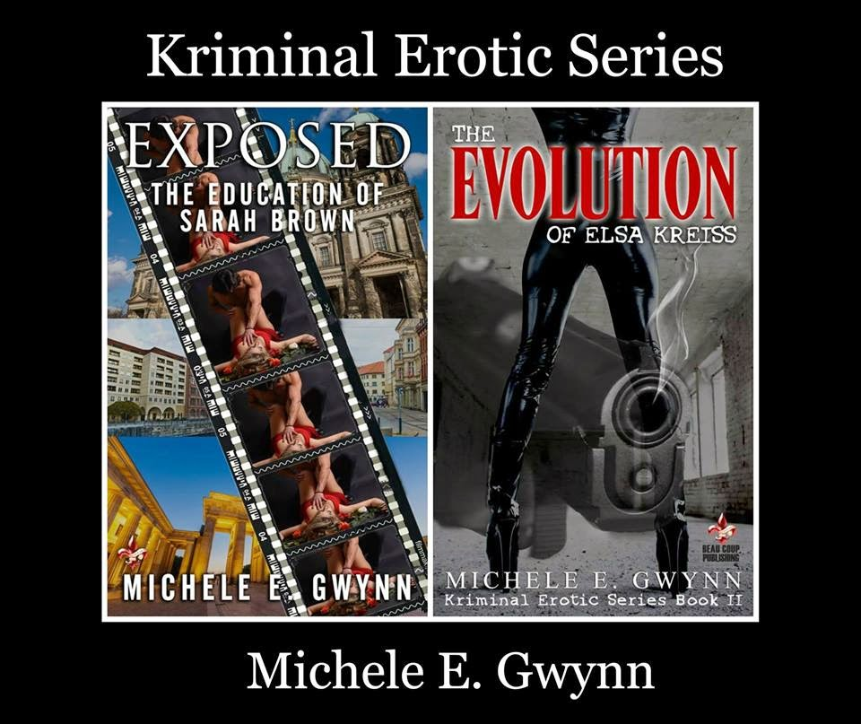 http://www.amazon.com/Evolution-Elsa-Kreiss-Kriminal-Erotic-ebook/dp/B00SU832OK/ref=sr_1_7_twi_1?ie=UTF8&qid=1422605549&sr=8-7&keywords=MICHELE+E.+GWYNN