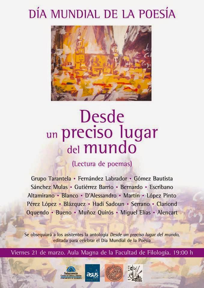 Día Mundial de la Poesía 2014