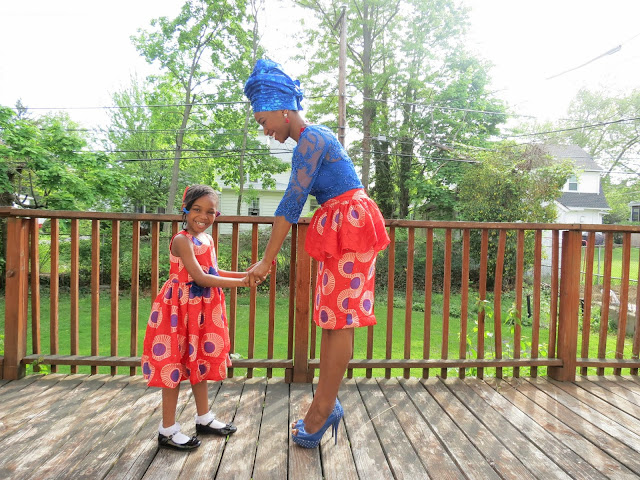 Mommy & Me, Ankara Styles, Nigerian Traditional Outfit, Asoebi