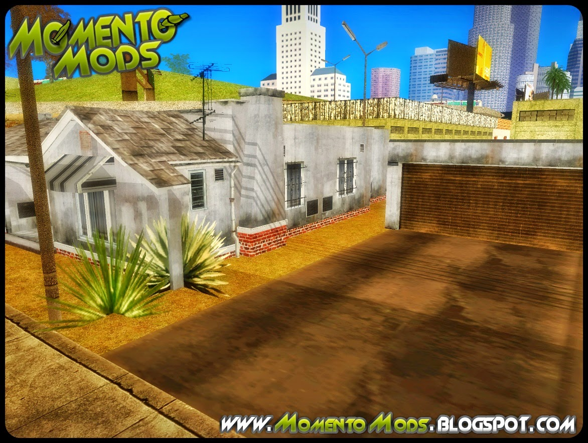 GTA SA - Casa Do Franklin Convertido Do GTA V