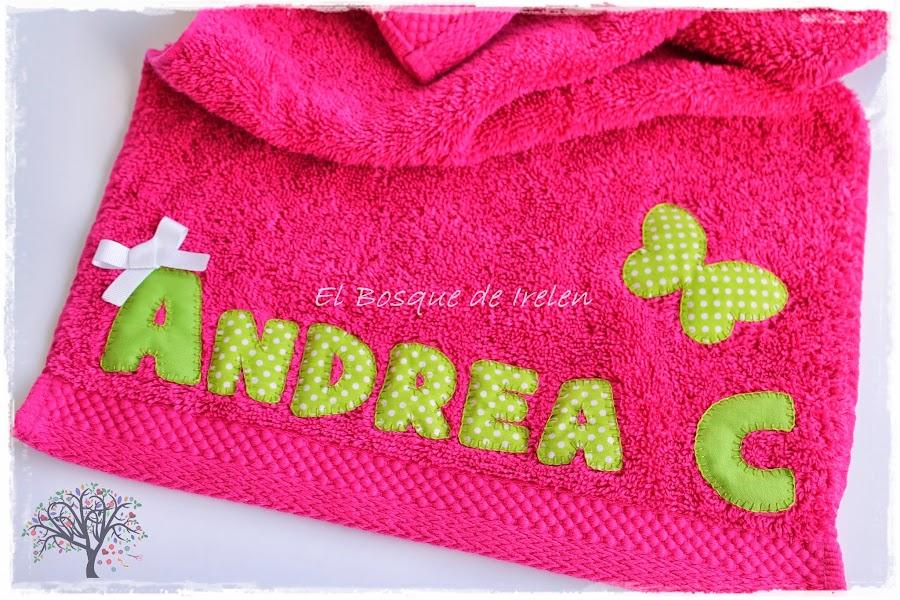 Letras para toallas - Toallas infantiles personalizadas ...