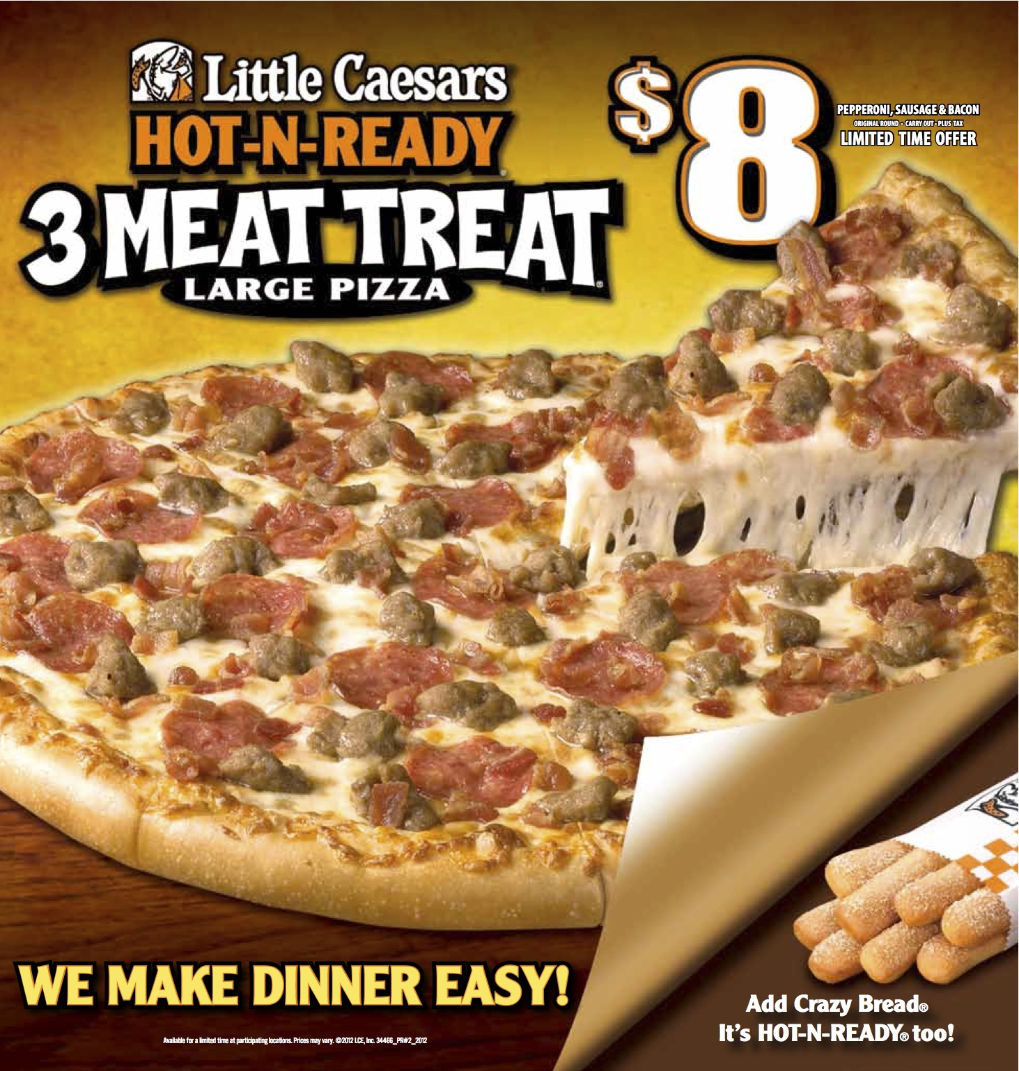LITTLE CAESAR'S. Michael and Marian Ilitch, the founders of Little Caesars Pizza, dreamed big, took risks, and grew one pizza shop in a Detroit suburb into an international pizza chain.