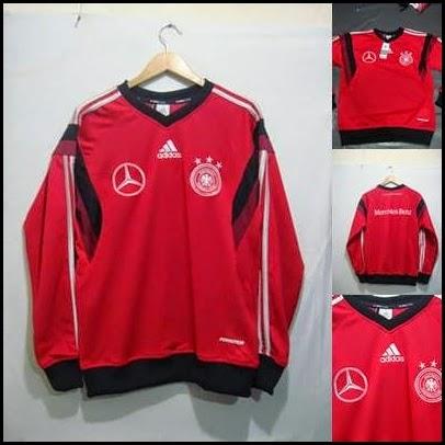 Sweater GO Jerman Merah