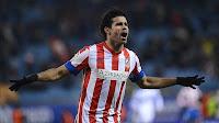Diego Costa celebra uno de sus tantos ante el Getafe