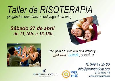 Oropéndola, Guadalajara, Risoterapia, taller, actividades para adultos, bienestar, salud, reír, risa, yoga de la risa, mente, cuerpo, persona, planes