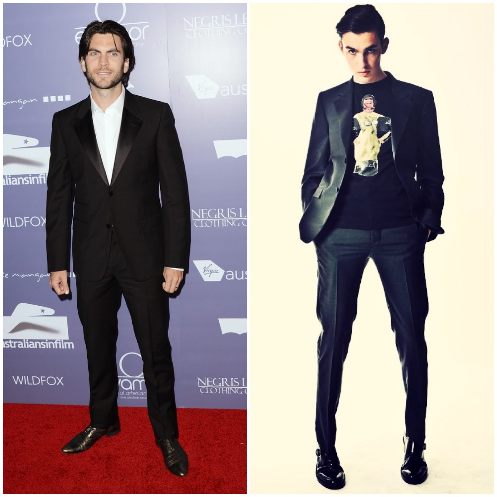 00O00 London Menswear Blog celebrity style Wes Bentley at Australians In Film Awards & Benefit Dinner at InterContinental Hotel on June 27, 2012 in Century City, California in Marc Jacobs