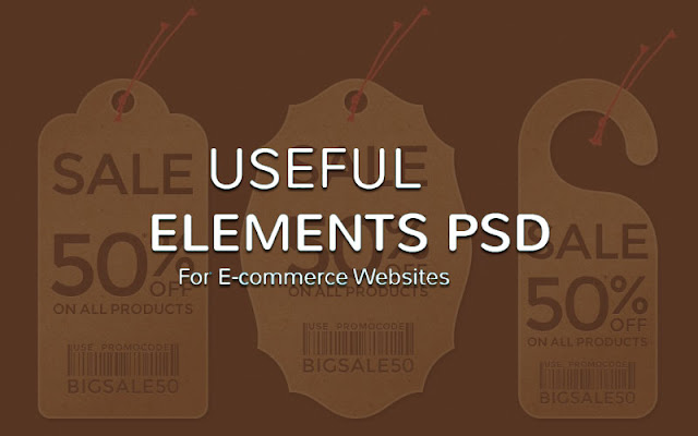 70 Best Free PSD Elements For Ecommerce Websites