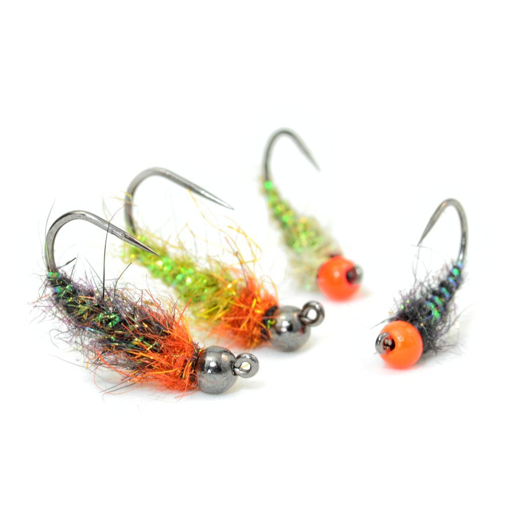 Easy jig style nymph fly fish food fly tying and fly for Fly fishing tying