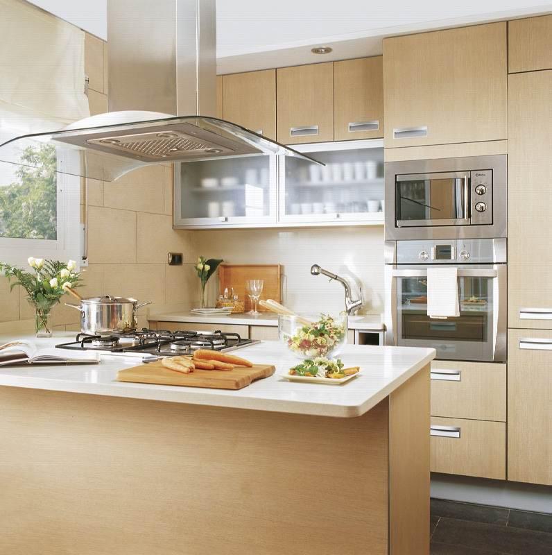 Muebles para cocinas peque as - Modelos de cocinas pequenas ...