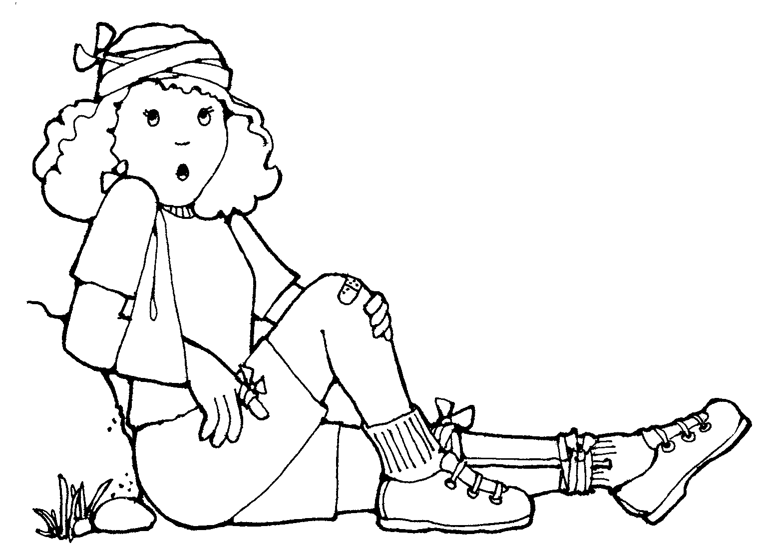 Free Coloring Pages Of Band Aids Band Aid Coloring Page