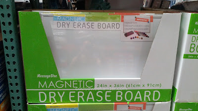Communicate your thoughts on the Messagestor Magnetic Dry Erase Board