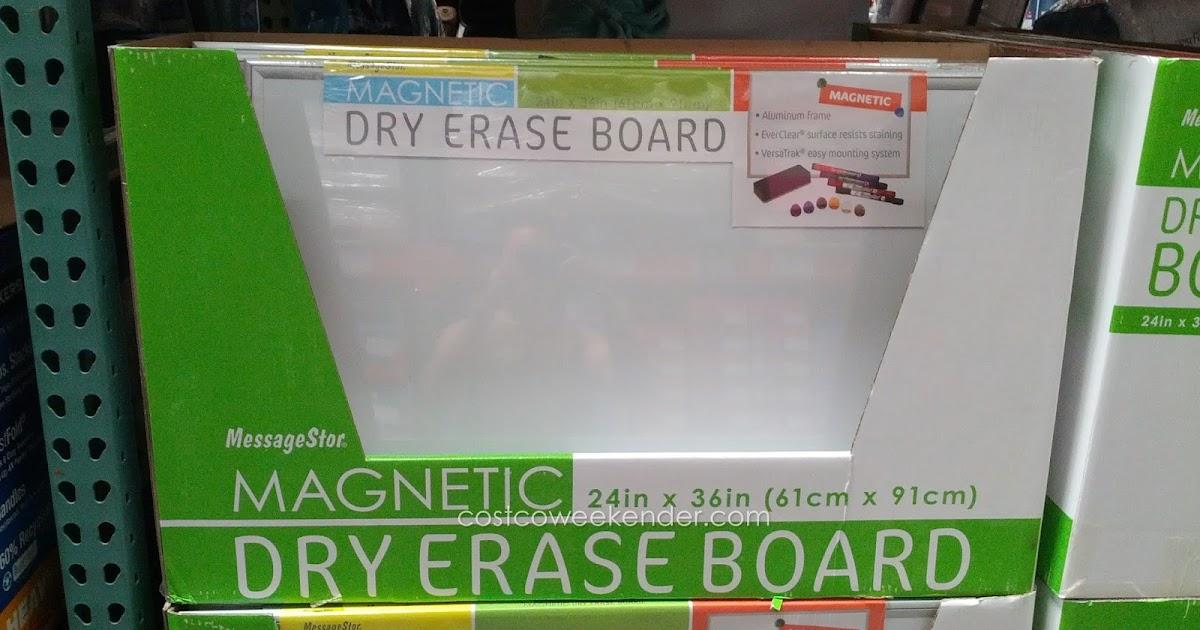 Messagestor Magnetic Dry Erase Board Costco Weekender
